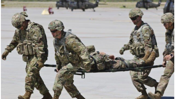 """The U.S. military said in a statement that it was """"intoxicated"""" by the anti-freeze operation"""