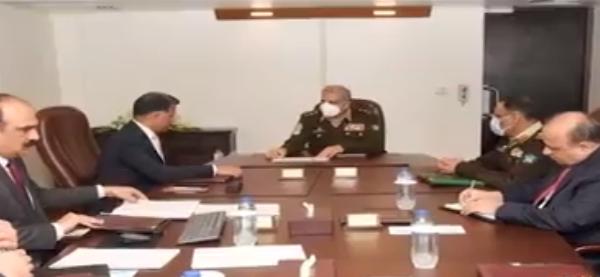 Army Chief General Qamar Javed Bajwa visits ISI Headquarters