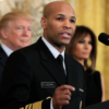 Earlier in the day, Biden demanded the resignation of US Surgeon General Adams