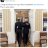 my friend! Now is the time for you, Barack Obama's new US President