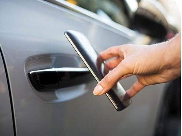 The Galaxy S21 smartphone can now unlock and unlock the car