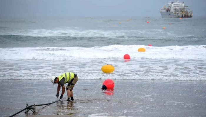 Underwater internet cable cut in Cairo, net users in trouble.