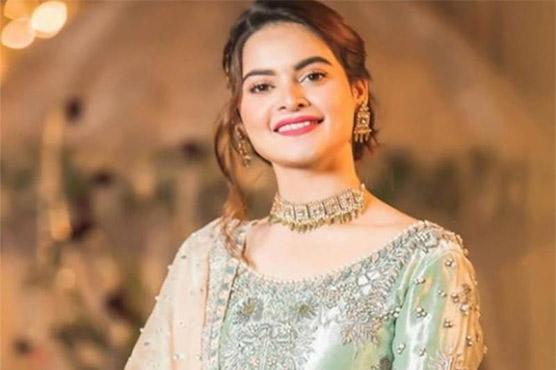 Manal Khan wore an engagement ring