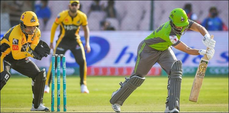 Lahore Qalandars defeated Peshawar Zalmi by 4 wickets