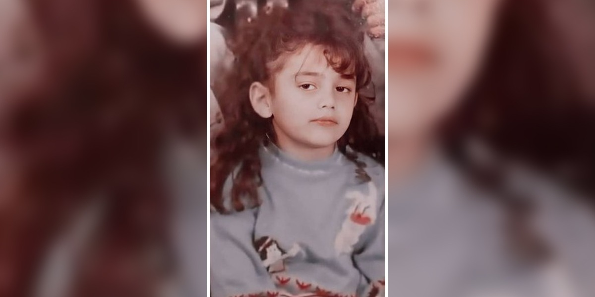 This picture is of the childhood of which famous actress?
