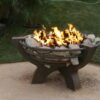 Are propane fire pits safe