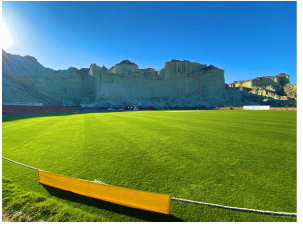 The beauty of Gwadar Cricket Stadium has attracted worldwide attention
