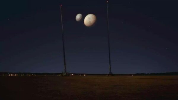 The mystery of two moons appearing in the sky of Dubai has been solved