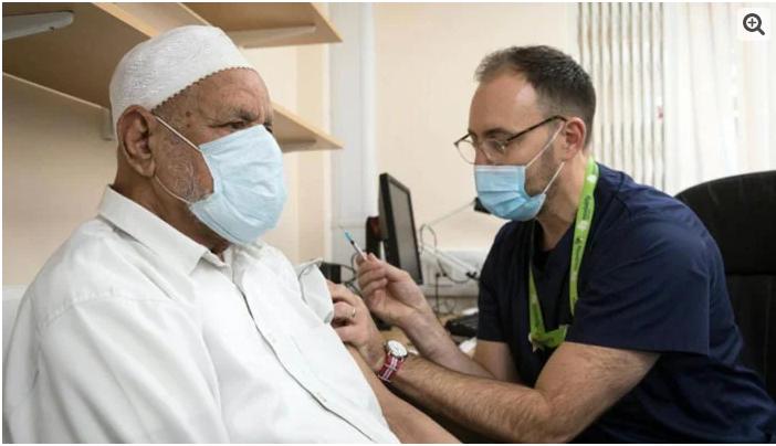 Pakistan tops list of corona vaccine refusals in UK