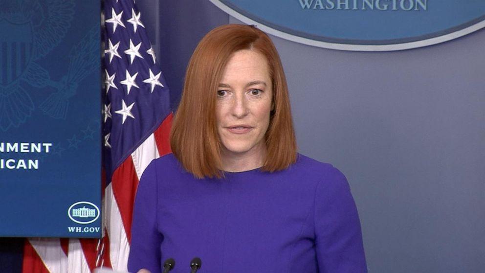 Jen Psaki holds White House press briefing   3/29/2021