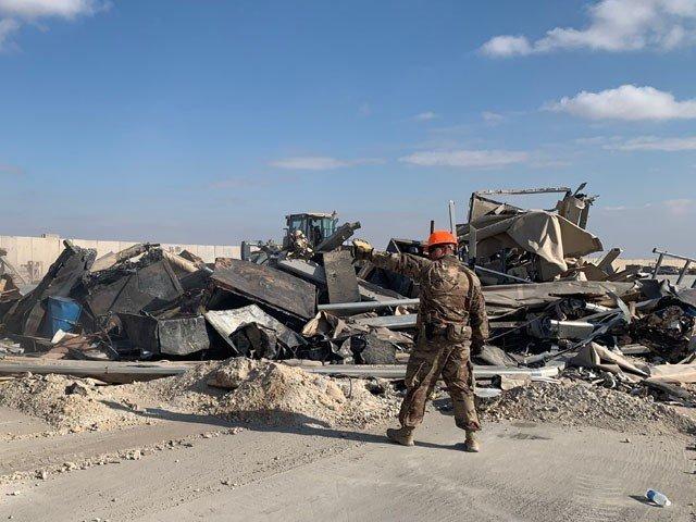 10 rocket attacks on US air base in Iraq