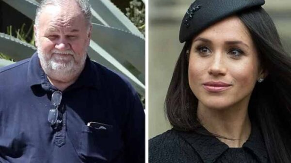 Meghan's father's reaction to the interview came to light