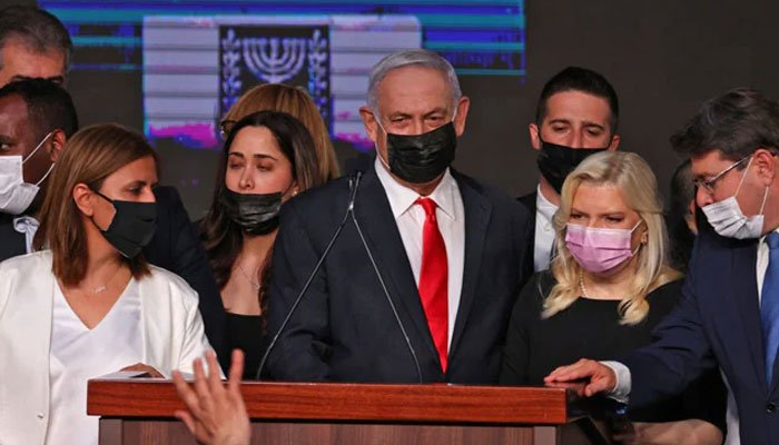 Netanyahu once again claims to have won the general election