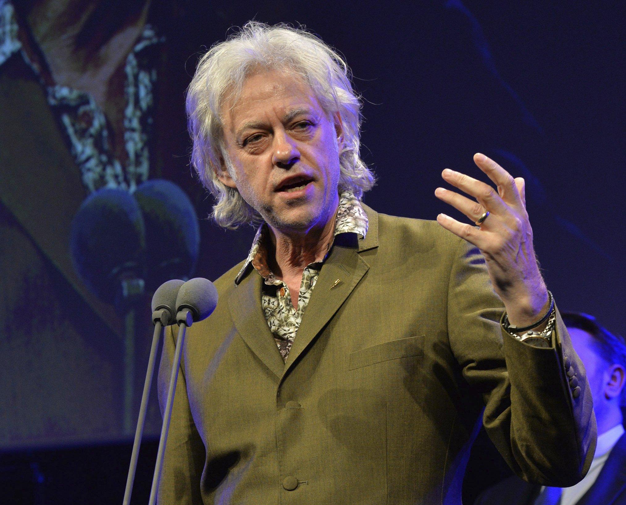 Bob Geldof Biography