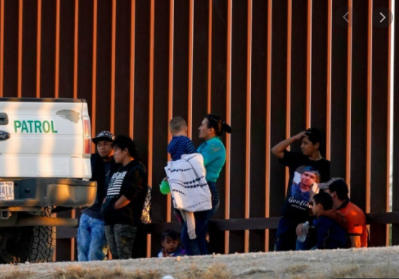 Texas GOP speak to press after touring the border