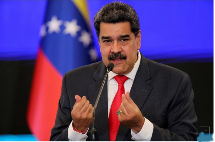 The Facebook administration also suspended the Venezuelan president's page