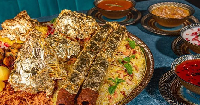 Where and how much do you get the most expensive biryani in the world?