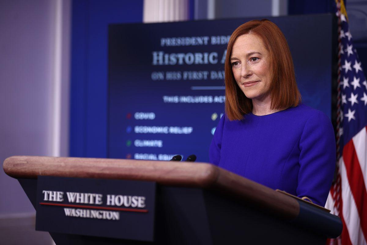 Jen Psaki holds White House press briefing | 4/1/2021