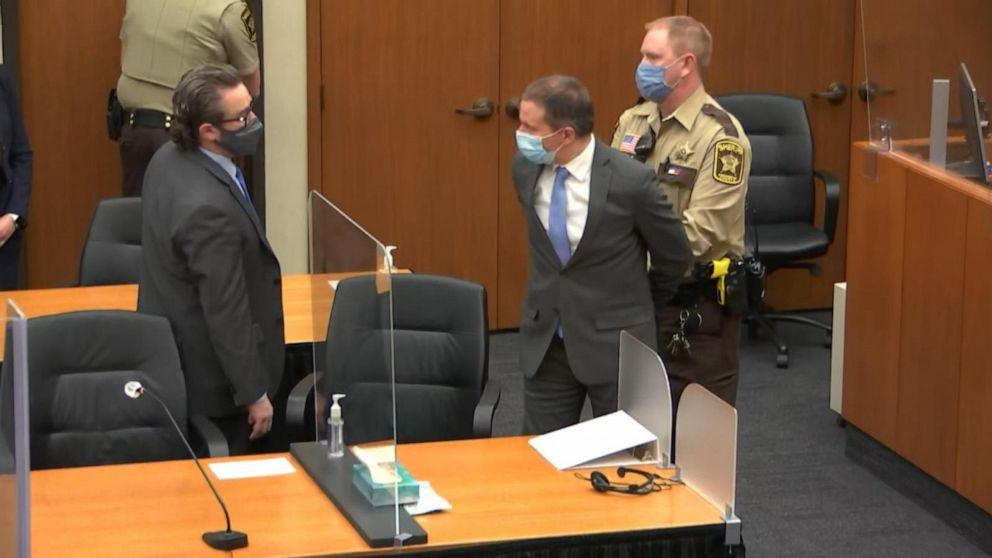 Derek Chauvin found guilty on all three counts