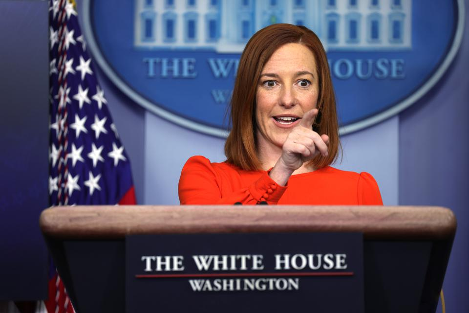 Jen Psaki holds White House press briefing | 4/6/2021