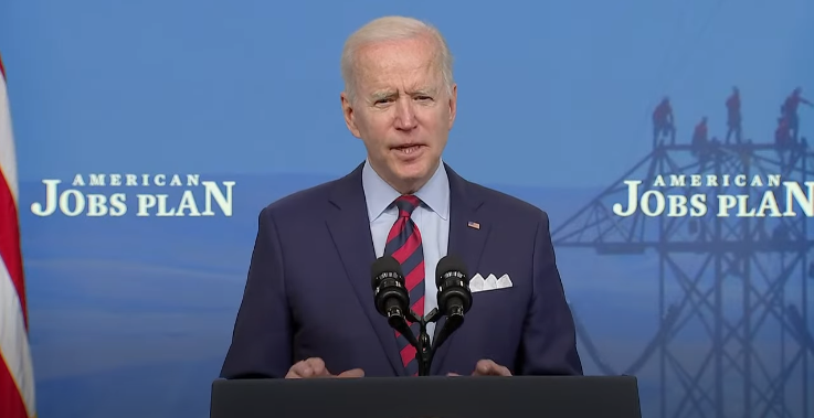 Biden delivers remarks on the American Jobs Plan