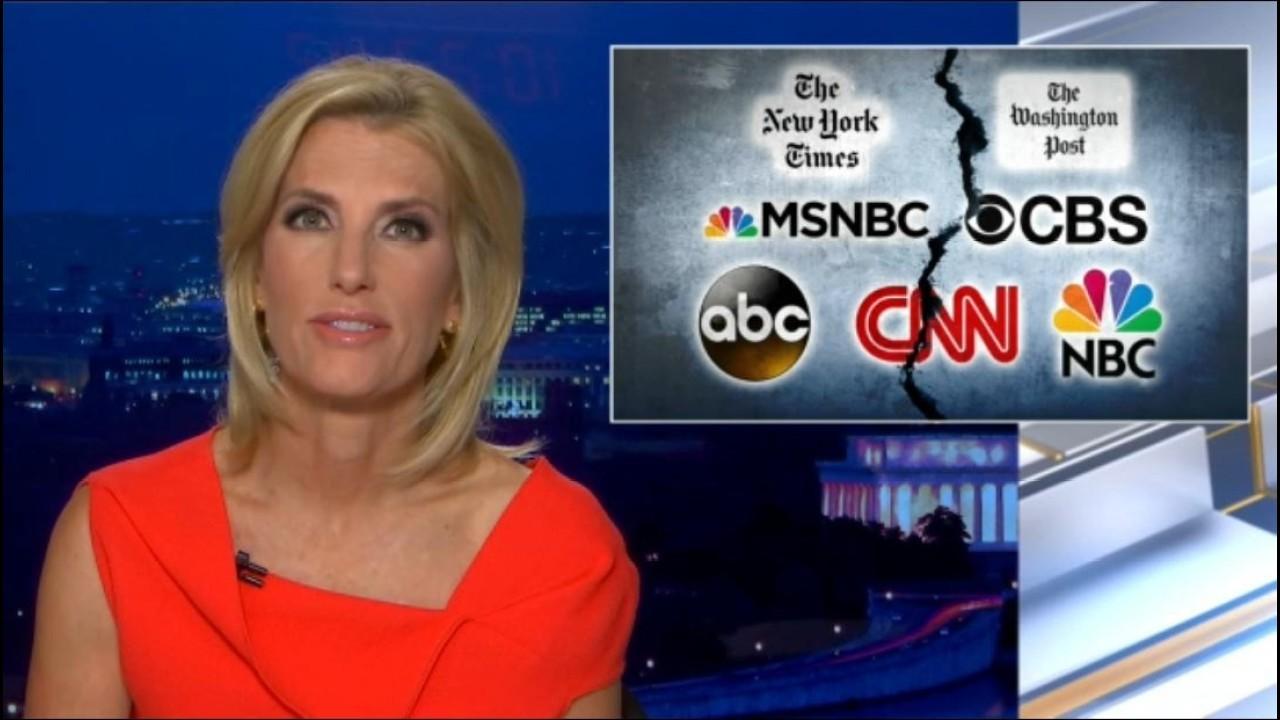 Laura Ingraham: Media is echoing 'vicious' lies of radical leftists