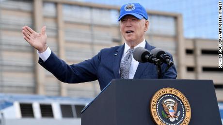 Biden delivers remarks on US infrastructure