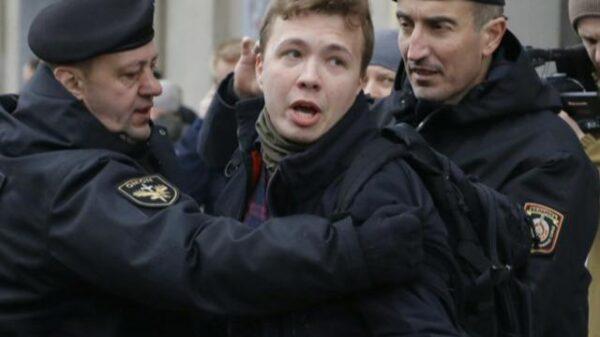 U.S. demands Belarus release journalist arrested after flight was diverted