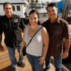 Woman reunited with fishermen 35 years after they rescued her