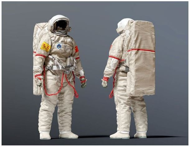 """Practical test of """"next generation"""" Chinese space clothing in space"""