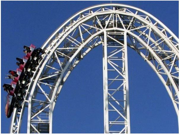 The world's fastest roller coaster shuts down after four people break bones